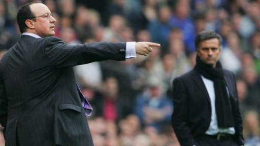 Rafael Benitez dan Jose Mourinho