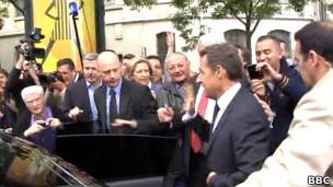 L'ancien chef d'Etat français Nicolas Sarkozy