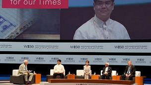 conferencia Wise en Qatar