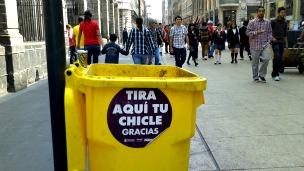 Recipiente para goma de mascar en Ciudad de México