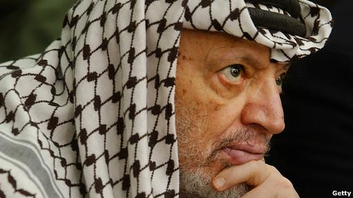 Arafat não morreu envenenado, diz relatório francês