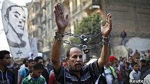 Protestas contra el presidente Morsi en Egipto