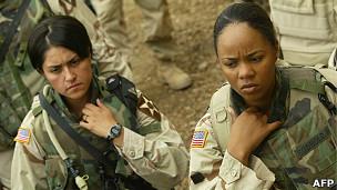 Mujeres militares estadounidenses