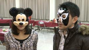 Participantes do encontro para solteiros
