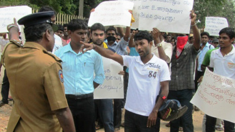 Sri Lanka clash over Tamil rebel remembrance