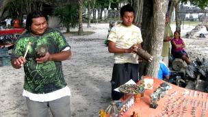 Mayas en Chichen Itzá