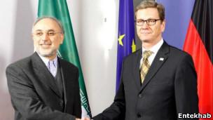 وزیران خارجه آلمان و ایران