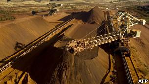 Minério de ferro / AFP