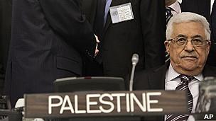 Abbas y aviso de Palestina