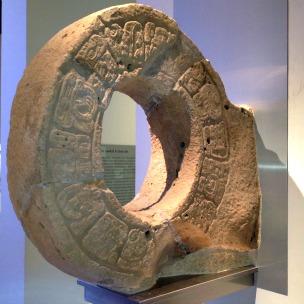 Jogo de Bola, escultura em museu maia