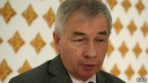 Виктор Себелев, глава представительства ФМС России в Таджикистане
