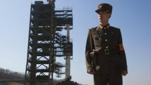 korea utara roket