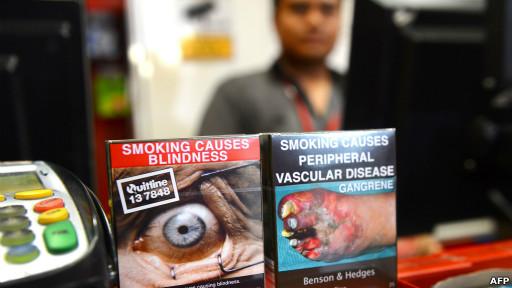 Cajetillas de cigarrillos
