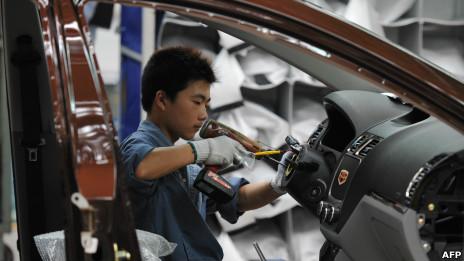 中国汽车工人
