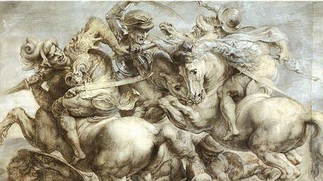 La Batalla de Anghiari, versión Rubens
