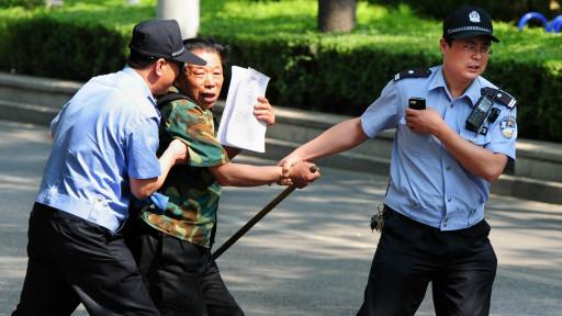 Trấn áp khiếu kiện ở Trung Quốc