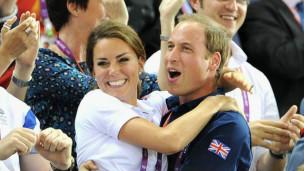 Kate y Guillermo de Inglaterra