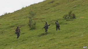 Des rebelles du M23.