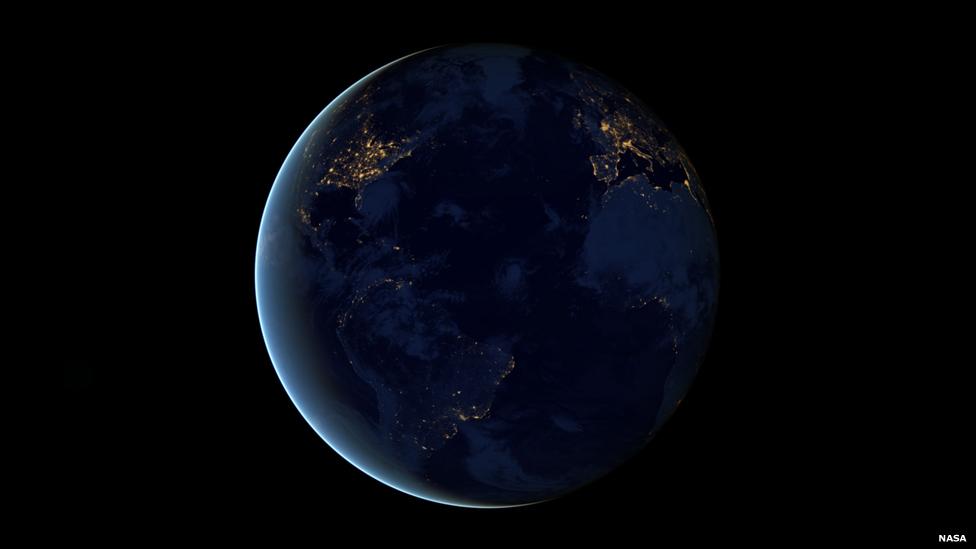 Nasa revela fotos noturnas da Terra com detalhes inéditos ...