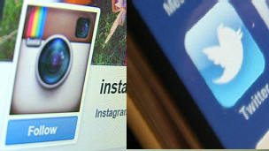 Twitter y Instagram