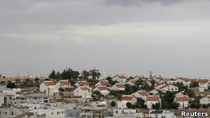 Assentamento israelense (Reuters)