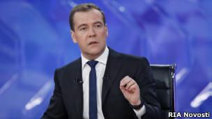 Телеинтервью Дмитрия Медведева 7 декабря 20102 г.