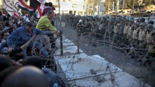 मिस्र में अवरोध तोड़े गए