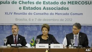 Dilma Rousseff em encontro do Mercosul (Foto Agência Brasil)