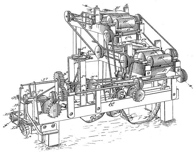 Máquina para fabricar cigarrillos