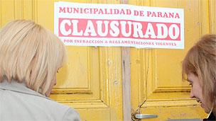 Prostíbulo clausurado en Paraná.