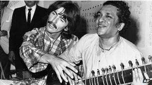 Shankar, Harrison y Boyd.