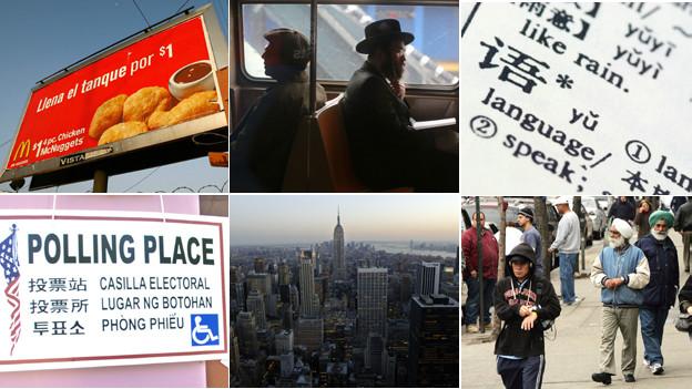 न्यूयॉर्क, भाषा