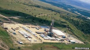 Campo de petróleo na Colômbia  / Crédito: Minminas