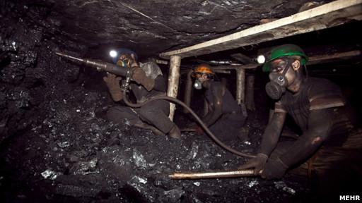 کارگران معدن طبس