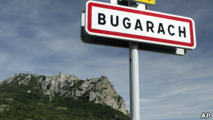 Vilarejo de Bugarach. AP
