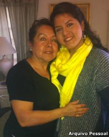 Chela Praeli e a filha Lorella