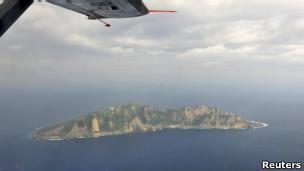钓鱼岛,日本称尖阁诸岛(13/12/2012)
