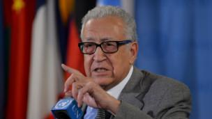 Lakhadar Brahimi, enviado internacional a Siria