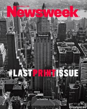Capa da Newsweek (Foto Divulgação)