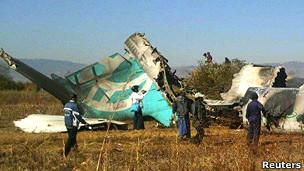 緬甸客機殘骸