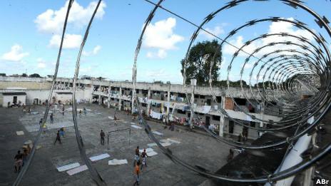 Penitenciária na Bahia