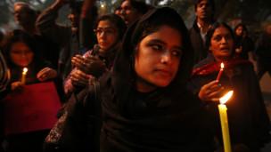 बलात्कार पीड़ित के लिए न्याय की मांग