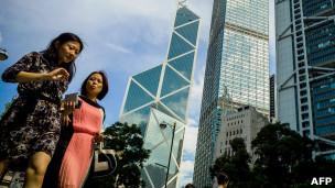 香港中环商业区(6/8/2012)