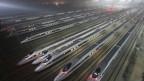 Đường xe lửa cao tốc dài nhất thế giới ở Trung Quốc