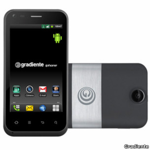 iphone Andriod de Gradiente