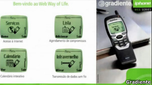 iphone de Gradiente