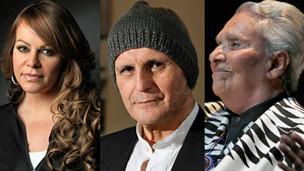 Jenni Rivera, Leonardo Favio, Chavela Vargas