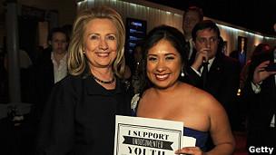 Matuz y Clinton