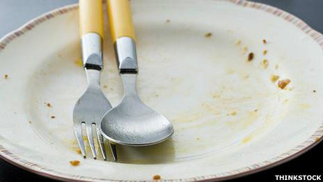 Imagen genérica de un plato vacío