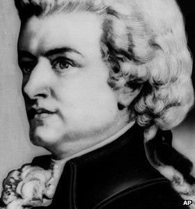 Retrato de Mozart